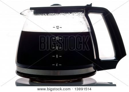 Coffee Pot Filled