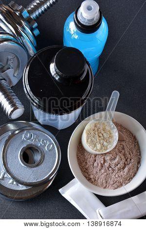 Whey Protein Taste Vanilla And Chocolate