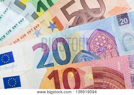 Cash Money - Euro Bills , European Money