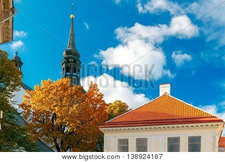 Church of St. Mary the Virgin is a cathedral located at Toompea Hill in Tallinn.