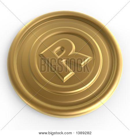 Golden Register Sign Chip