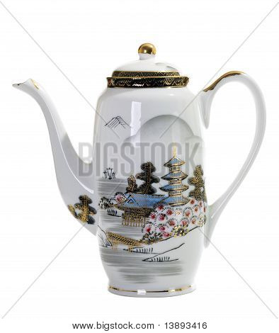 Asian Handpaint Teapot