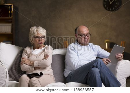 Going Through Silent Days In Their Marriage