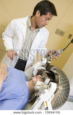 Patient Undergoing Neurosurgery