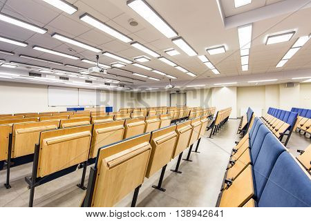 Clear Space Of Lecture Hall