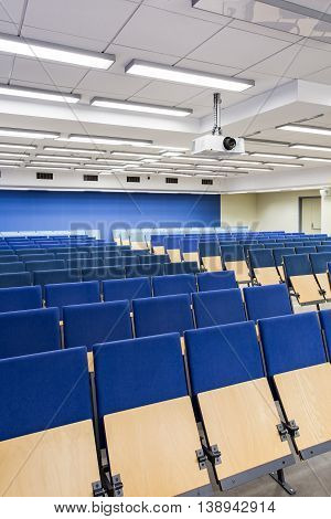 Comfortable Seats For Students To Listen To The Lecture