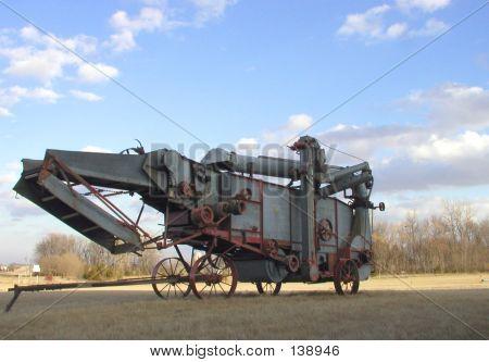 Antique Threshing Machine