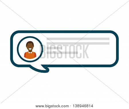 blog user blogger icon vector isolated graphic