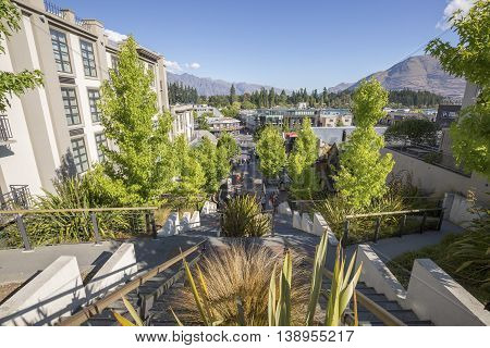Queenstown is a resort town in Otago in the south-west of New Zealand's South Island.