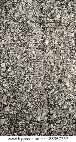 nature grained grunge concrete macadam asphalt background