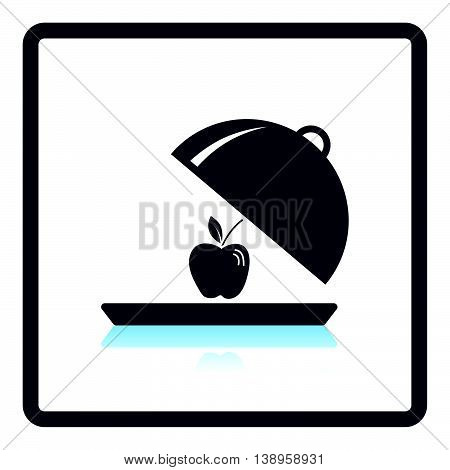 Icon Of Apple Inside Cloche