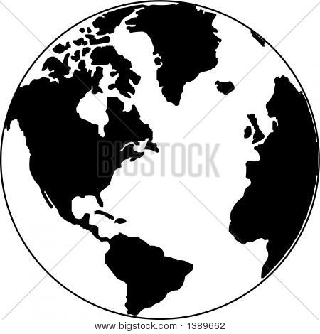 world map outline vector. world map outline vector