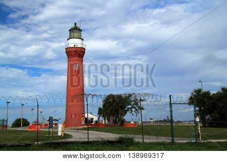 St. Johns River Lighthouse in Jacksonville, Florida