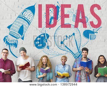 Ideas Creativity Imagination Light Bulb Concept
