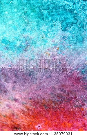 Rainbow Watercolour Background 4
