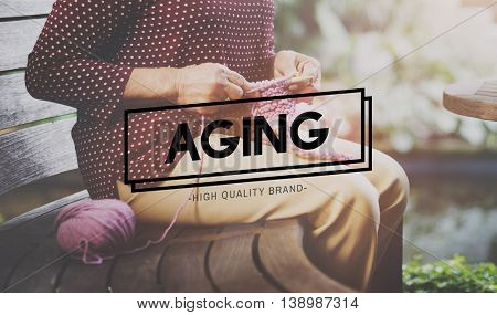 Aging Mature Natural Senior Care Adult Concept