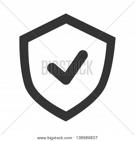 Approval sign badge, isolated flat icon design