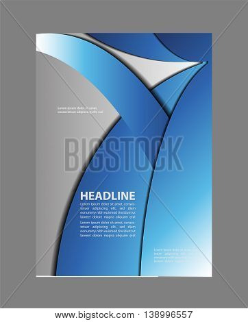 Stylish presentation of business poster Flyer template