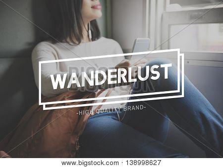 Wanderlust Adventure Camping Journey Vacation Concept