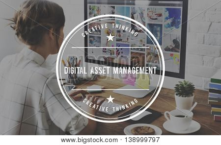 Digital Asset Management DAM Distribution Assessment Concept
