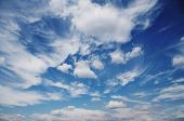 picture of clouds sky  - Beautiful clouds and sky - JPG
