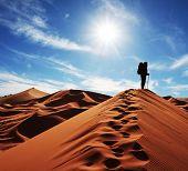 Постер, плакат: Поход в песок пустыни