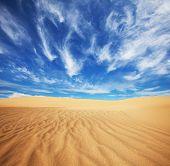 Постер, плакат: Песок пустыни