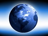 foto of world-globe  - World Globe - JPG