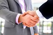 stock photo of handshake  - handshake - JPG