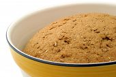 Hearty Bread Dough - Close-Up