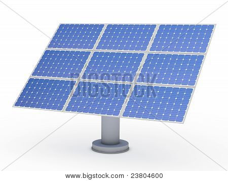 3D Solar Blue Energy Photovoltaic