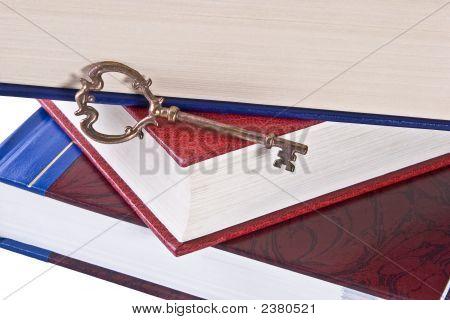 Skeleton Key On Books
