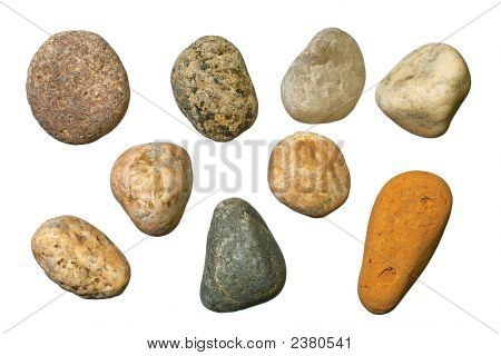 Varicolored Gravel Stones