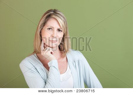 Skeptical Woman