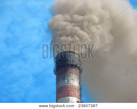 Smoking Chimney Smelter.