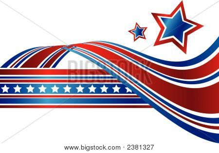 Patriotic Abstract (Replacing: 1835455)