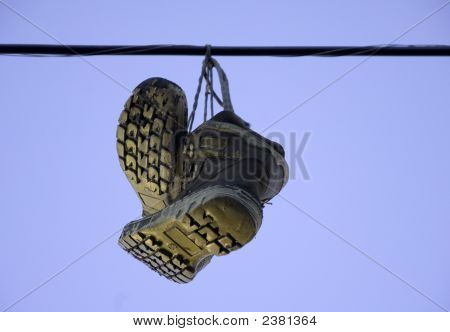Boots On Wire