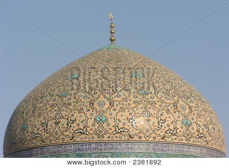 Dome In Imam Square, Isfahan / Esfahan, Iran