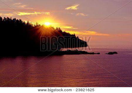 Sunrise Over Shovel Point