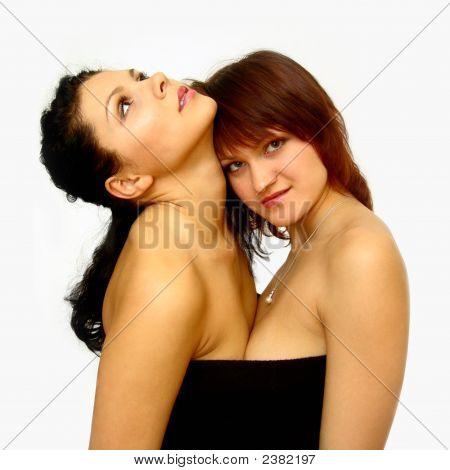 Nackte Mädchen