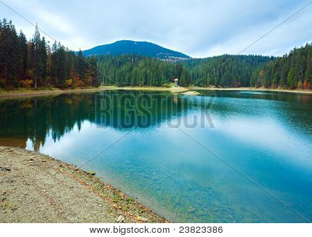 Autumn Synevir Mountain Lake
