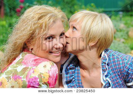 girlfriends talking, gossips in secret