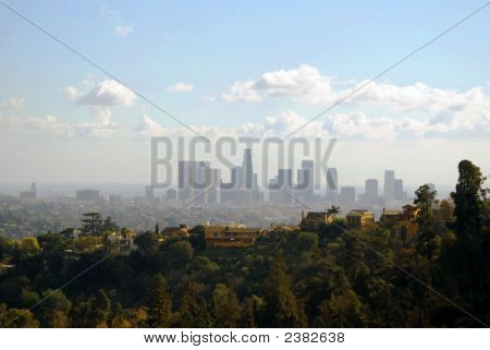 Amazing View Of Los Angeles