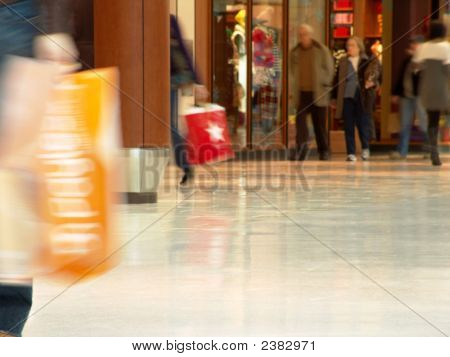 Shopping Mall People