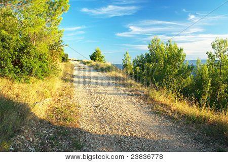 The journey from Makarska along the Croatian coast