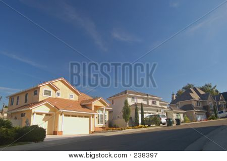 Houses In The Suburbs