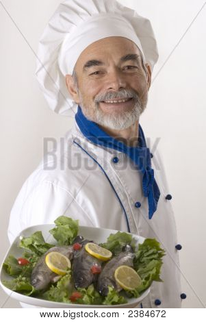 Attractive Cook