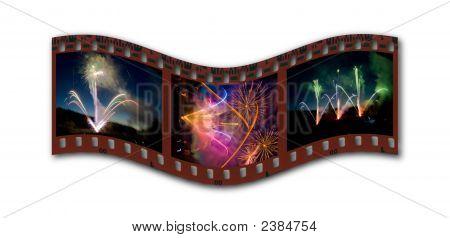 Fireworks Filmstrip
