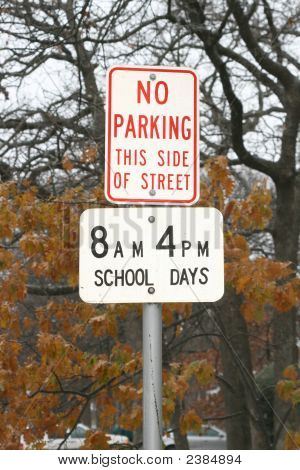 No Parking School