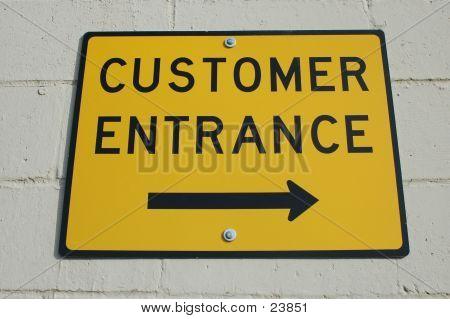Customer Entrance